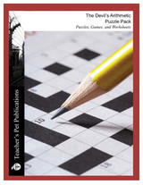 The Devil's Arithmetic Puzzle Pack Worksheets, Activities, Games