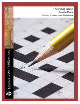 The Egypt Game Puzzle Pack Worksheets, Activities, Games