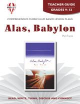 Alas Babylon Novel Unit Teacher Guide