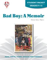 Bad Boy A Memoir Novel Unit Student Packet