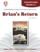 Brian's Return Novel Unit Teacher Guide