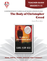 The Body Of Christopher Creed Novel Unit Teacher Guide