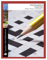 Great Expectations Puzzle Pack Worksheets, Activities, Games
