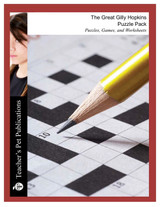 The Great Gilly Hopkins Puzzle Pack Worksheets, Activities, Games