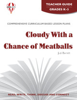 Cloudy With A Chance Of Meatballs Novel Unit Teacher Guide