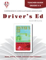 Driver's Ed Novel Unit Teacher Guide
