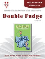 Double Fudge Novel Unit Teacher Guide
