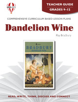 Dandelion Wine Novel Unit Teacher Guide
