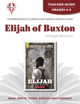 Elijah Of Buxton Novel Unit Teacher Guide