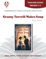 Granny Torrelli Makes Soup Novel Unit Teacher Guide