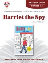 Harriet the Spy Novel Unit Teacher Guide