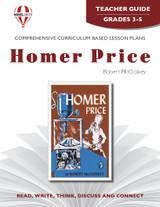 Homer Price Novel Unit Teacher Guide