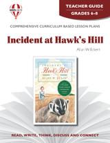 Incident At Hawk's Hill Novel Unit Teacher Guide