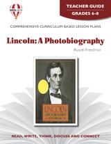 Lincoln: A Photobiography Novel Unit Teacher Guide