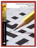 I Know Why the Caged Bird Sings Puzzle Pack Worksheets, Activities, Games