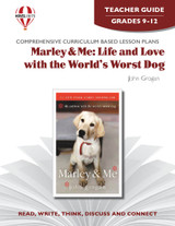Marley and Me Novel Unit Teacher Guide