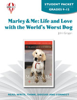 Marley and Me Novel Unit Student Packet
