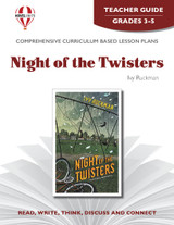 Night Of The Twisters Novel Unit Teacher Guide