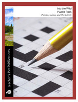 Into the Wild Puzzle Pack Worksheets, Activities, Games