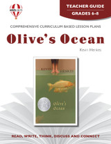 Olive's Ocean Novel Unit Teacher Guide