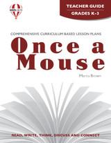 Once A Mouse Novel Unit Teacher Guide