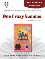 One Crazy Summer Novel Unit Teacher Guide