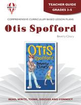 Otis Spofford Novel Unit Teacher Guide
