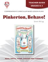 Pinkerton, Behave!  Novel Unit Teacher Guide