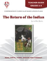 The Return Of The Indian Novel Unit Teacher Guide