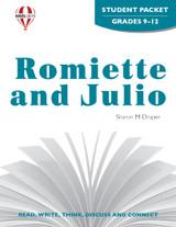Romiette And Julio Novel Unit Student Packet