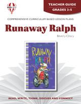 Runaway Ralph Novel Unit Teacher Guide