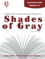 Shades of Gray Novel Unit Teacher Guide