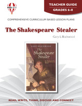The Shakespeare Stealer Novel Unit Teacher Guide