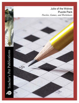 Julie of the Wolves Puzzle Pack Worksheets, Activities, Games