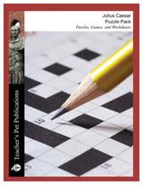 Julius Caesar Puzzle Pack Worksheets, Activities, Games