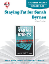 Staying Fat For Sarah Byrnes Novel Unit Student Packet