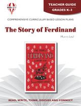 The Story Of Ferdinand Novel Unit Teacher Guide