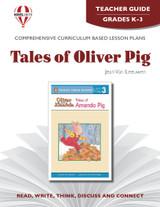 Tales Of Oliver Pig  Novel Unit Teacher Guide