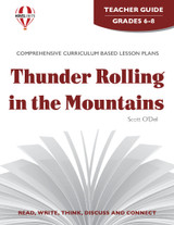 Thunder Rolling in the Mountains Novel Unit Teacher Guide