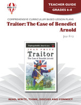 Traitor: The Case Of Benedict Arnold Novel Unit Teacher Guide