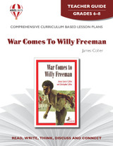 War Comes To Willy Freeman  Novel Unit Teacher Guide