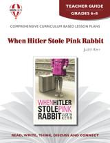When Hitler Stole Pink Rabbit Novel Unit Teacher Guide