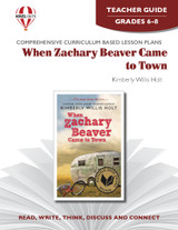 When Zachary Beaver Came To Town Novel Unit Teacher Guide