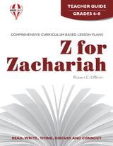 Z For Zachariah Novel Unit Teacher Guide PDF Download