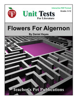 Flowers For Algernon Interactive PDF Unit Test