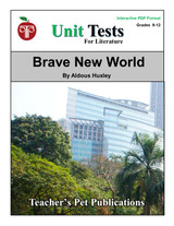 Brave New World Interactive PDF Unit Test