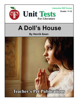 A Doll's House Interactive PDF Unit Test