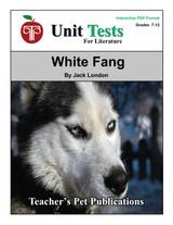 White Fang Interactive PDF Unit Test