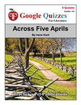 Across Five Aprils Google Forms Quizzes