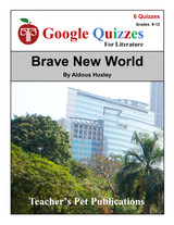 Brave New World Google Forms Quizzes